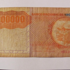 CY - 100000 kwanzas 1991 Angola