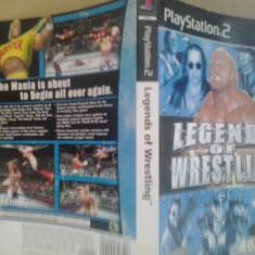Coperta - Legends of wresling - Playstation PS2 ( GameLand )