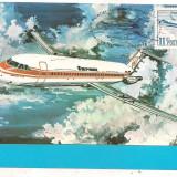 % ilustrata maxima -ZIUA AVIATIEI 1983 Rombac 1-11, Europa