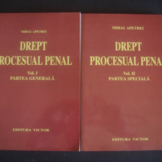 MIHAI APETREI - DREPT PROCESUAL PENAL 2 volume