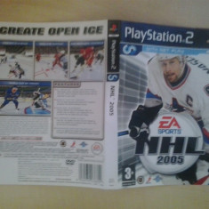 Coperta - NHL 2005 - Playstation PS2 ( GameLand )
