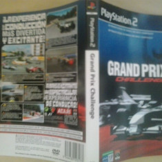 Coperta - Grand Prix Challange - PlayStation PS2 ( GameLand )