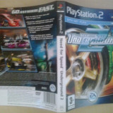 Coperta - Need for speed Underground 2 - NFS  - Playstation PS2 ( GameLand )