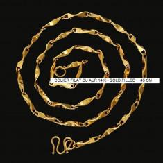LANT colier PANDORA Medium Bullions filat placat cu aur 14k gold filled - Lantisor placate cu aur Diesel, Femei