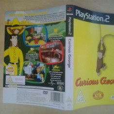 Coperta - Curious George - PlayStation PS2 ( GameLand )
