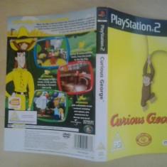 Coperta - Curious George - PlayStation PS2 ( GameLand )