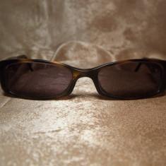 Chanel, ochelari de soare unisex, originali, Plastic, Maro