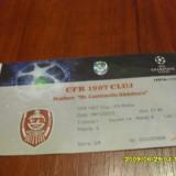 bilet    CFR  Cluj  -  AS  Roma