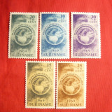 Serie Paste 1969 Suriname , 5 val.