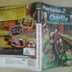 Coperta - Charlie and the chocolate factory - Play Station PS2 ( GameLand )