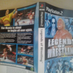 Coperta - Legends of Wrestling - Playstation PS2 (GameLand)