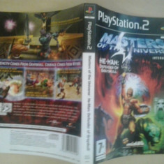 Coperta - Masters of the universe - Playstation PS2 ( GameLand )
