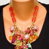 Colier fashion multicolor