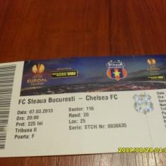 bilet   Steaua  -  Chelsea