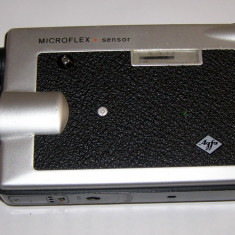 Camera filmat 8mm vintage Agfa Microflex - Aparat Filmat