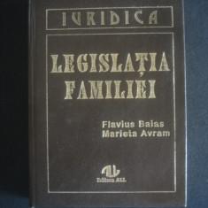 FLAVIUS BAIAS, MARIETA AVRAM - LEGISLATIA FAMILIEI