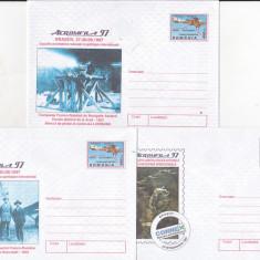 Bnk fil Aeromfila 1997 Brasov - lot 7 intreguri postale
