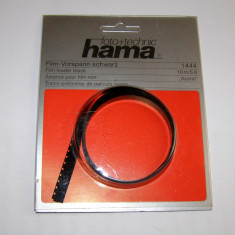 Film 8mm leader negru Hama 10m