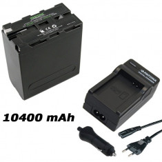 PATONA Premium | Incarcator + Acumulator Sony NPF990 NP F990 F970 F960 NPF960 - Baterie Camera Video