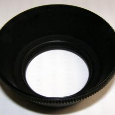 Parasolar 49mm pentru obiectiv foto cu diametru filet 49 mm - Parasolar Obiectiv Foto