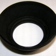 Parasolar 49mm pentru obiectiv foto cu diametru filet 49 mm _2