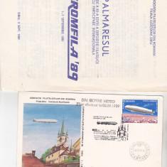 Bnk fil Aeromfila 89 - plicuri ocazionale + palmares