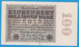 (10) BANCNOTA GERMANIA - 100 MILLIONEN MARK 22.08.1923 - FILIGRAN SMALL CIRCLE