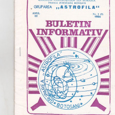 Bnk fil Astrofila - Buletin informativ 3/1986