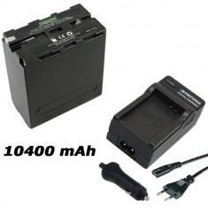 PATONA Premium | Incarcator + Acumulator pt Sony NP F990 NPF990 NP F970 NPF970 - Baterie Camera Video