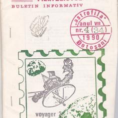 Bnk fil Astrofila - Buletin informativ nr 4/1990