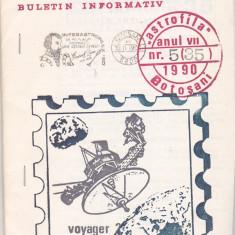 Bnk fil Astrofila - Buletin informativ nr 5/1990