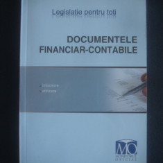 DOCUMENTELE FINANCIAR CONTABILE