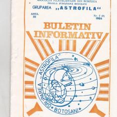 Bnk fil Astrofila - Buletin informativ 2/1986