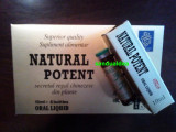 Natural potent - fiole  Potenta Ejaculare Precoce Erectie, Afrodisiace