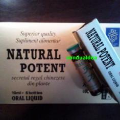 Natural potent - fiole Potenta Ejaculare Precoce Erectie - Stimulente sexuale, Afrodisiace