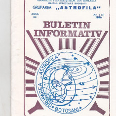 Bnk fil Astrofila - Buletin informativ 1/1986