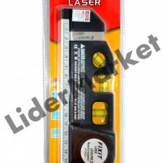 Ruleta multifunctionala Level Pro - Nivela laser cu rigla - Ruleta masura