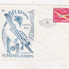 Bnk fil Plic ocazional - Balcaniada aeronautica Ploiesti 1979