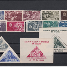 ROMANIA - 1945 AGIR, LP 181, 181a, 182, 183, 184, MNH - LOT 1 RO - Timbre Romania, Nestampilat