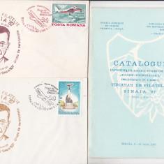 Bnk fil Targul de filatelie Sinaia 87 - Aviatie-cosmonautica