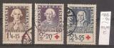 Finlanda, 1935, Crucea Rosie, savanti finlandezi , seria stampilata, Oameni, Stampilat