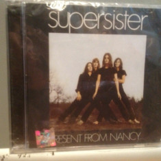 SUPERSISTER - PRESENT FROM NANCY (2008 /esoteric REC /UK) - CD ROCK/ NOU/SIGILAT - Muzica Rock universal records