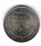 FRANTA moneda 2 euro comemorativa 2011, UNC