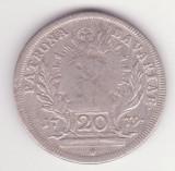 MONEDA DIN ARGINT BAVARIA (STAT GERMAN) - 20 KREUZER 1779 - PATRONA BAVARIAE