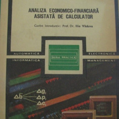 Analiza economico-financiara asistata de calculator de D. Margulescu