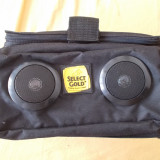 GEANTA CU DIFUZOARE PENTRU MP3,TELEFON ,ETC