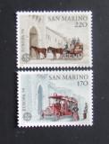 SAN MARINO 1979 - EUROPA  2 VALORI, NEOBLITERATE - SM 056