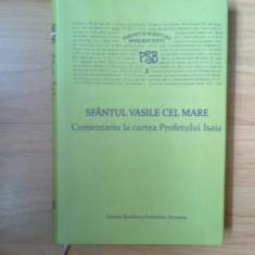 G0 PSB 2 - Comentariu la cartea Profetului Isaia - Sfantul Vasile Cel Mare - Carti ortodoxe