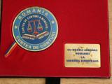 MPL3 - MEDALIE - CURTEA DE CONTURI - ADERAREA ROMANIEI LA UNIUNEA EUROPEANA