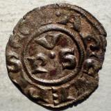 C.123 ITALIA ARHIEPISCOPIA RAVENA DENAR SEC. XIV ARGINT/BILLON 0, 57g/16mm - Moneda Medievala, Europa, An: 1400